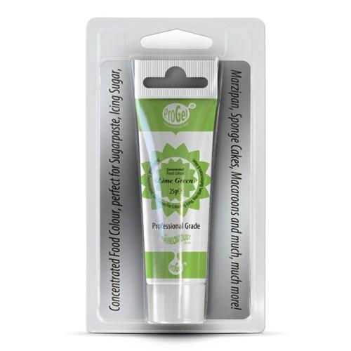 RD ProGel® - gelová barva - limetková - Lime Green