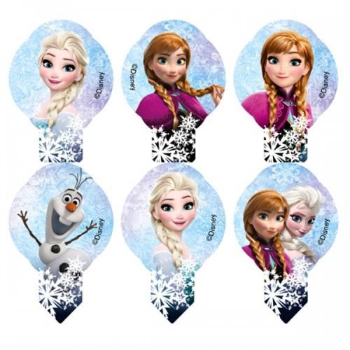 Disney jedlý papier  MIX Frozen mini - 12ks