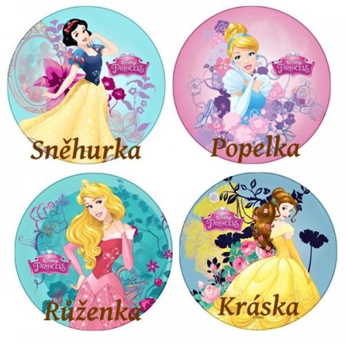 Disney jedlý papír Princesses - Kráska