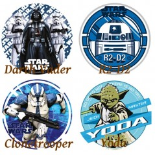 Disney jedlý papier Star Wars - R2-D2