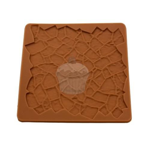 Silikon-Textur-Matte - Steinmauer