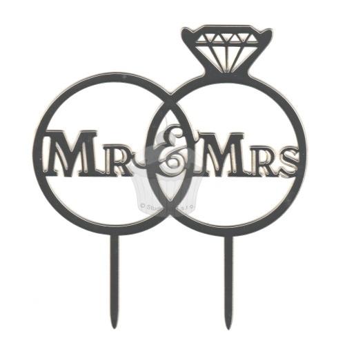 Zápich veľký - Mr. and Mrs. - 1ks