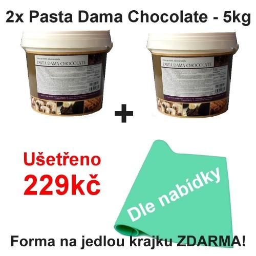 2x Pasta Dama Chocolate - 5kg + krajka zadarmo