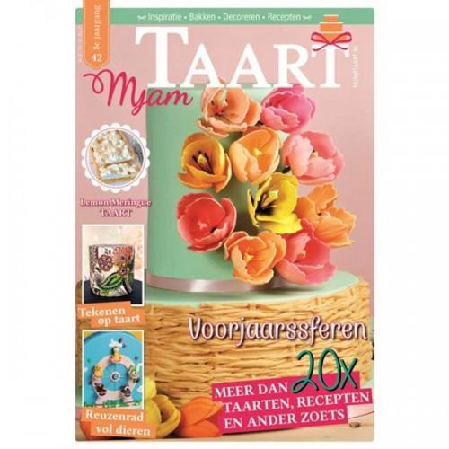 MjamTaart! Taartdecoratie Magazine Spring 2017