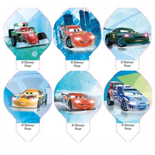 Disney jedlý papier  MIX Cars mini - 12ks