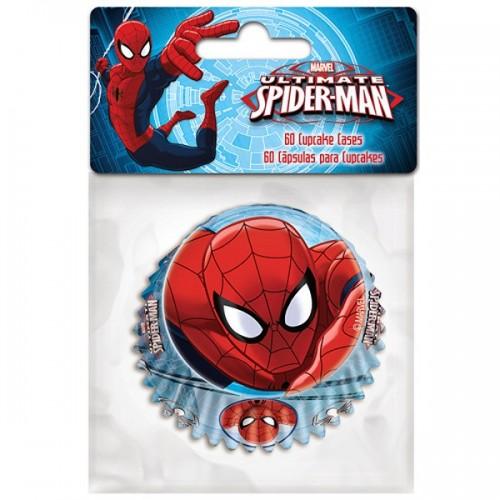 Stor  cukrárske košíčky - Spiderman  - 60ks