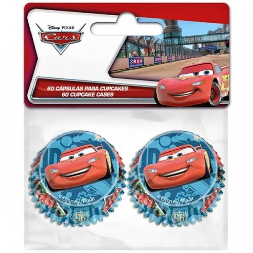 Stor  mini cukrárske košíčky - Cars 60ks