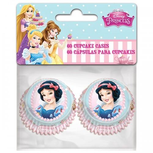 Stor  mini cukrárske košíčky - Princesses  60ks