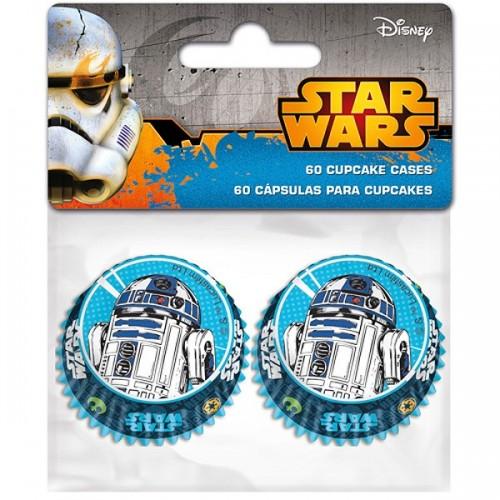 Stor  mini cukrárske košíčky - Star Wars 60ks