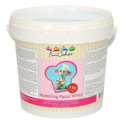 FunCakes Modelling Paste White - modelovacia hmota Biela - 1kg