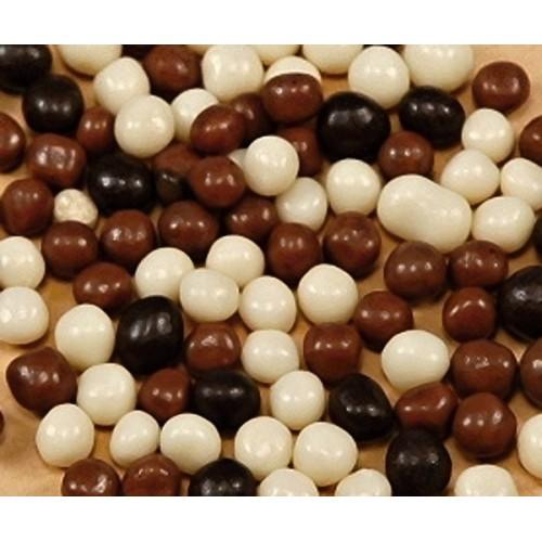 Chrumkavé guličky - mix čokoláda - 100g