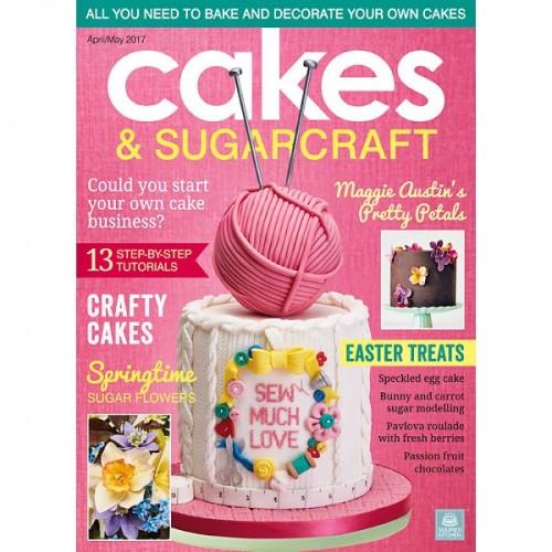 Cakes & Sugarcraft - duben / květen 2017