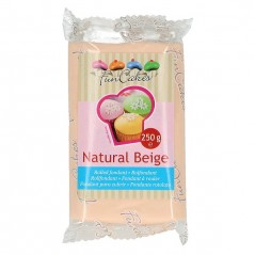 FunCakes Fondant Natural Beige  - 250 g