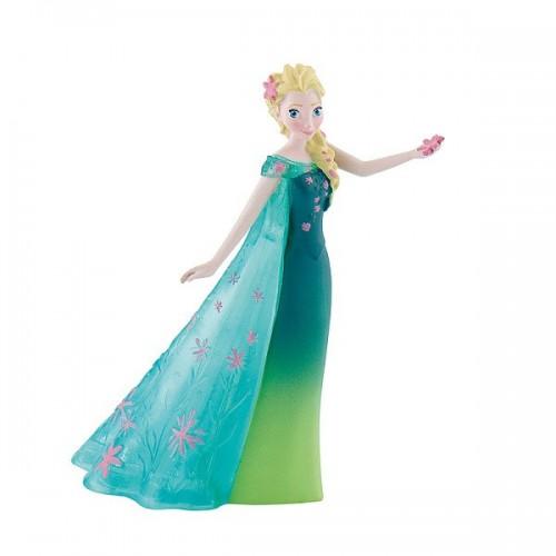 Dekorační figurka - Disney Figure - Frozen - Elsa - zelená