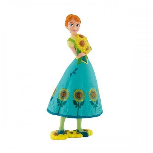 Dekorační figurka - Disney Figure - Frozen - Anna - zelená