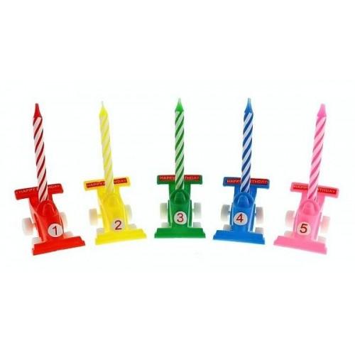 Cake Candles - Formula 5 + 5