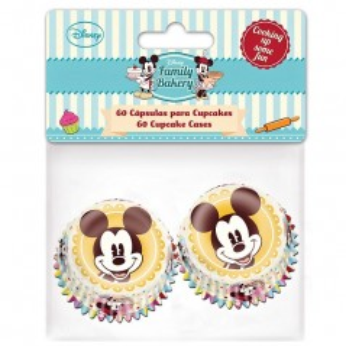 Stor Mini Baking Cups - Mickey 60stück