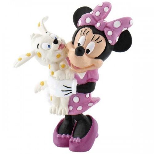 Dekoračné figúrka - Disney Figure Minnie s psíkom