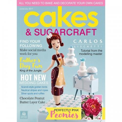 Cakes & Sugarcraft - jún / júl 2017