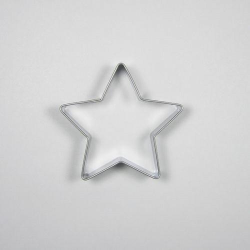 Nerezové vykrajovátko - Hvězda 5,6cm