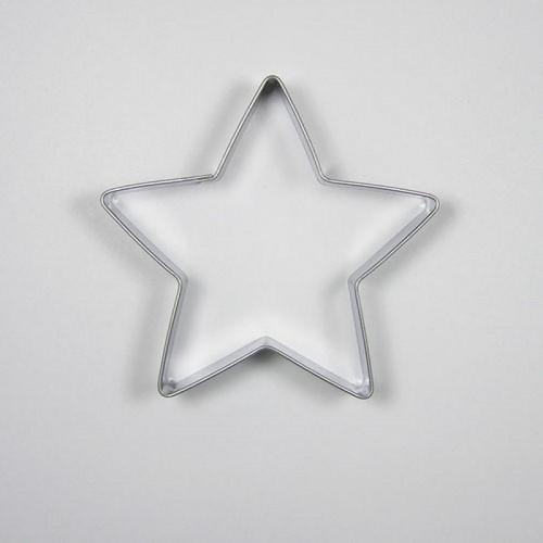 Nerezové vykrajovátko - Hvězda 7,1cm