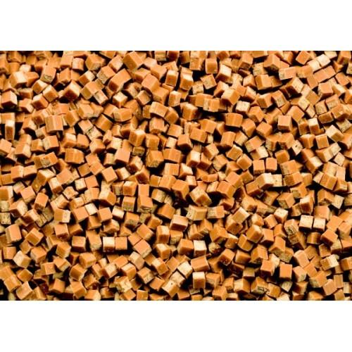 Karamelové kousky 6x6x6mm - 100g