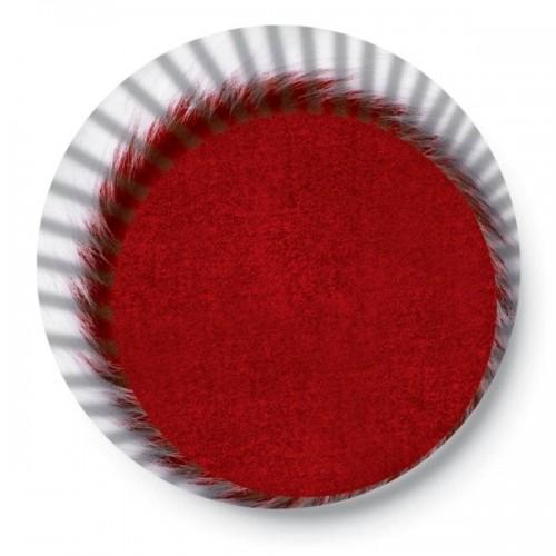 Cukrárske košíčky - dvojfarebné - biela / bordo - 50ks