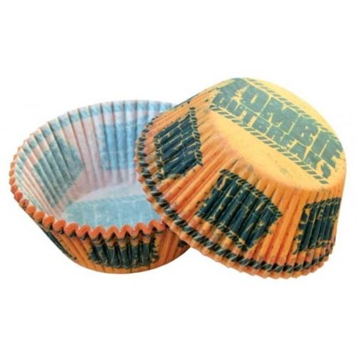 Cukrárske košíčky -  Zombie - 50ks