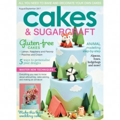 SK Cakes & Sugarcraft Magazine Aug/Sept 2017