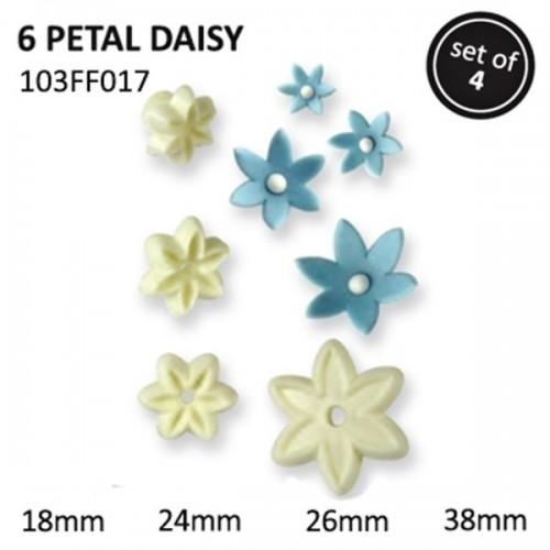 JEM 6 Petal Daisy set/4 - Blütenblatt  Gänseblümchen
