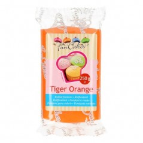 FunCakes Rolfondant Tiger Orange - 250g-
