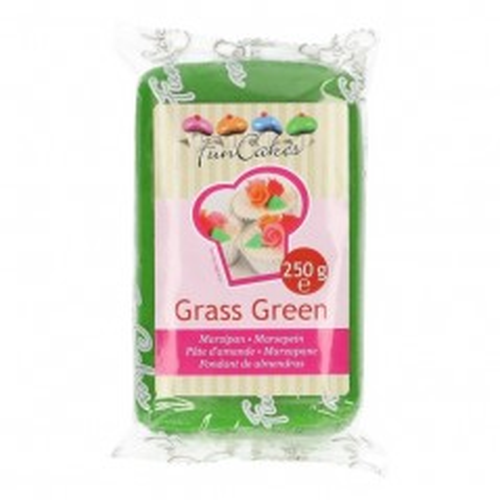 FunCakes Marcipán Grass Green  - zelený - 250g