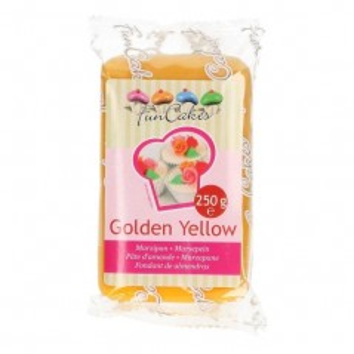 FunCakes Marzipan Golden Yellow - 250g