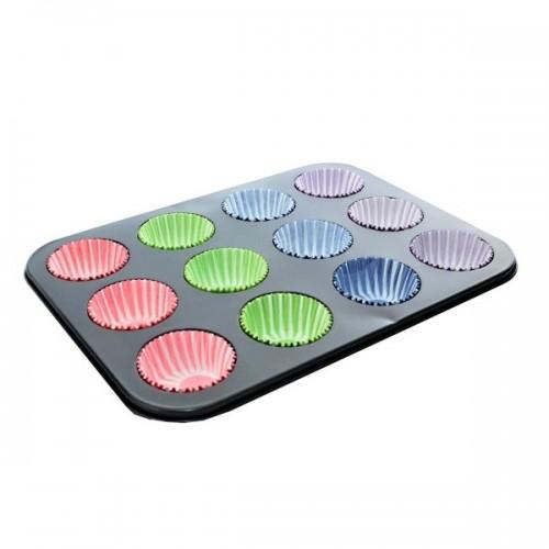 Forma na pečení - muffins + cukrářské košíčky 72ks