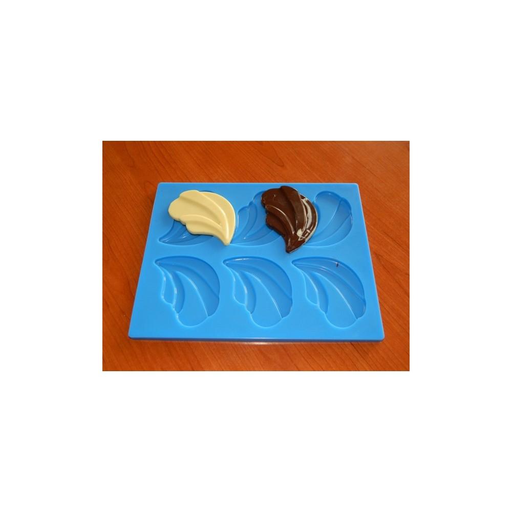 Forma na čokoládové ozdoby - Lístek