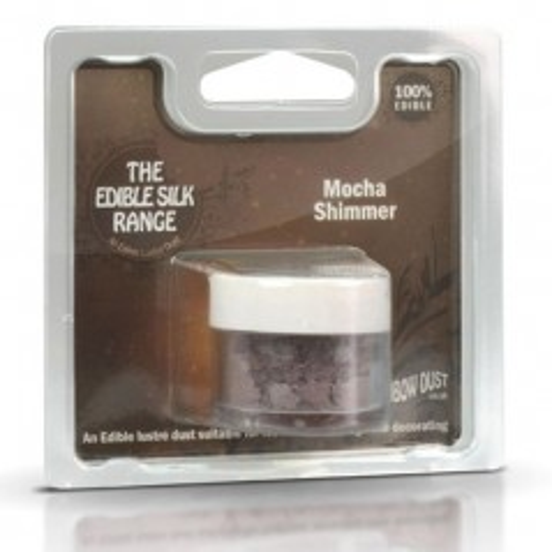 Puderfarbe Rainbow dust - RD Edible Silk -Shimmer Mocha