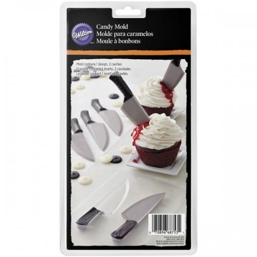 Forma na čokoládová lízanky - nôž
