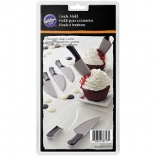 Forma na čokoládová lízátka - nůž
