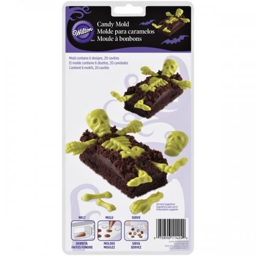Forma na čokoládová lízanky - kostra