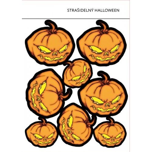 Jedlý papír karta - Strašidelný Halloween 8ks
