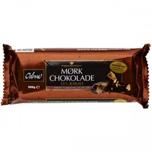Odense horká čokoláda 55% - 200g