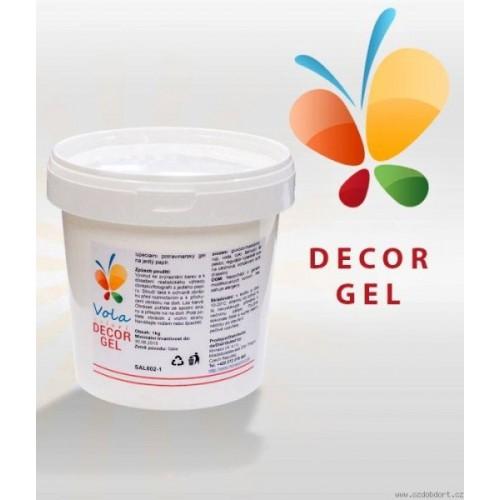 Dekor-Gel auf Esspapier - 1kg