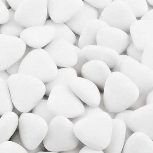 Čokoládová srdiečka - bielá - 50g