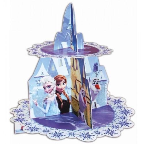 Papierový stojan na muffiny - Frozen