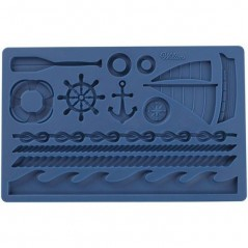 Wilton fondant and gum paste mold Nautical - námorné