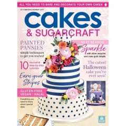 Cakes & Sugarcraft - říjen / listopad 2017