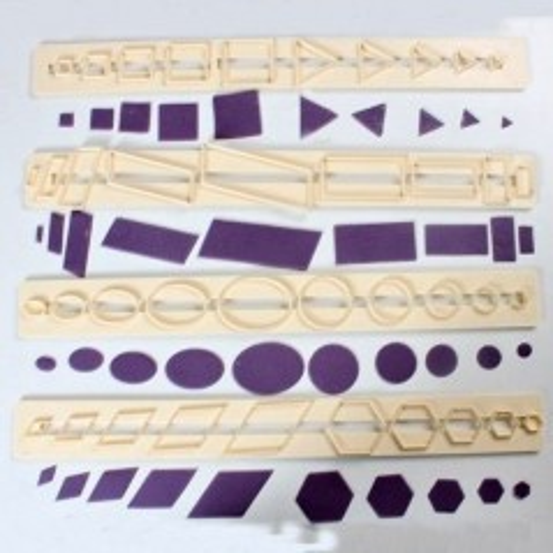 FMM lišta - základné tvary