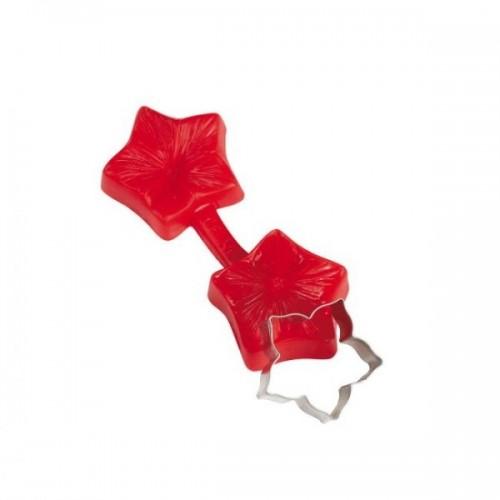 Pavoni - obojstranný odtlačkovač s vykrajovačom - petunia