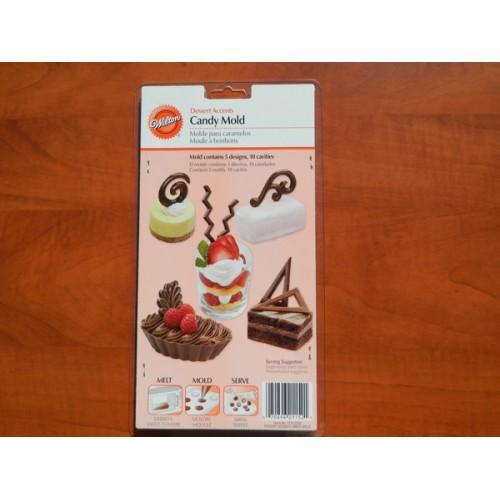 Forma na čokoládové ozdoby - Filigrány