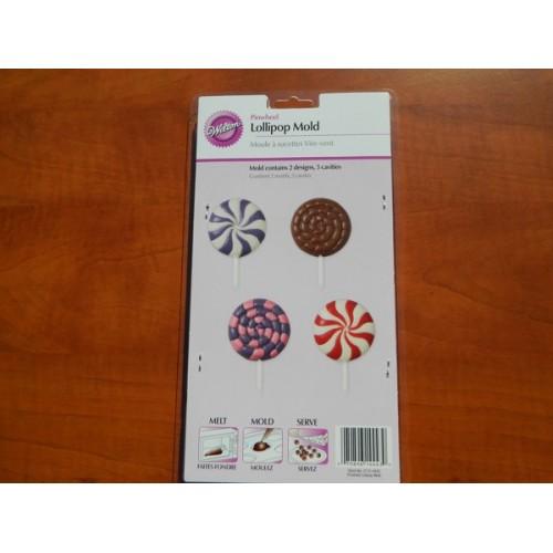 Forma na čokoládové lízátka - větrník